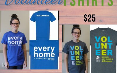 Habitat Volunteer T-Shirts